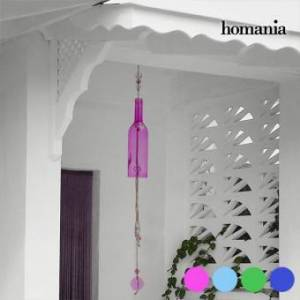 Homania Crystal Bottle Windmill - Färg: turkos