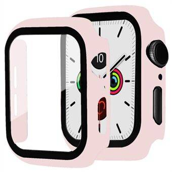 Frame PC + Tempered Glass Protector Watch Case for Apple Watch Series 3/2/1 38mm