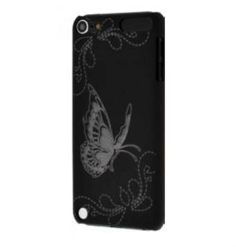 Apple PRISKRIGT - Touch 5/6 smart Sweet Butterfly (svart)