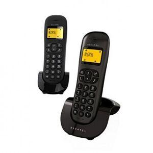 Alcatel Trådlös telefon Alcatel C-250 Duo Svart