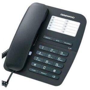 Daewoo Trådlös telefon Daewoo DTC-240 Svart