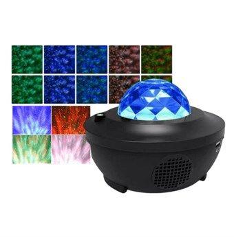 Starry Night Light med Bluetooth Fjärrkontroll - LED - Projektor