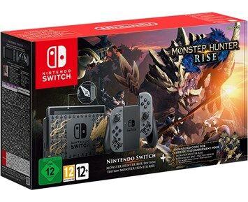Nintendo Switch HW Bundle inc. Monster Hunter Rise