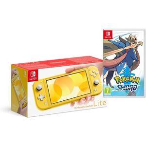 Nintendo Switch Lite Yellow och Pokémon Sword