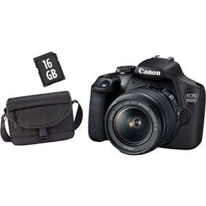 Canon EOS 2000D + EF-S 18-55/3,5-5,6 IS II