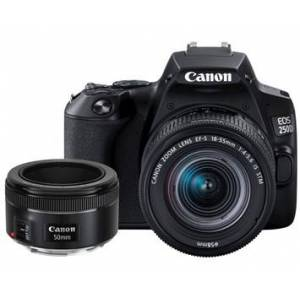 Canon EOS 250D + EF-S 18-55/4,0-5,6 IS STM + EF 50/1,8 STM