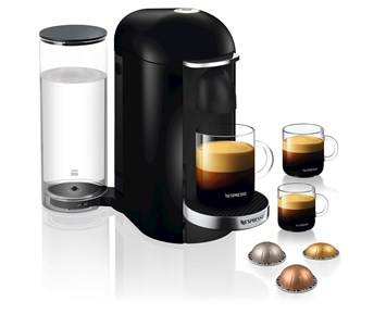 Nespresso Krups Vertuo Plus Black