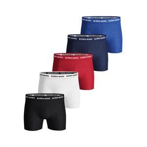 Björn Borg Solid shorts 5 pack Multi