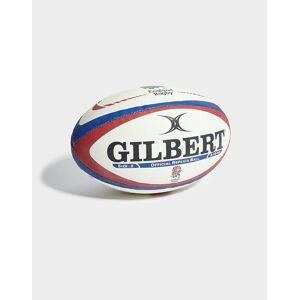 Gilbert England Replica Rugby Ball, Vit