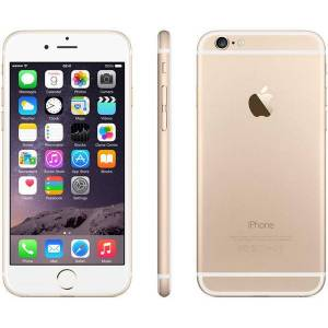 Apple iPhone 6 16GB Vit/Guld