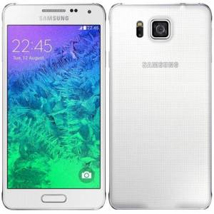 Samsung Galaxy Alpha (m. burn-in) 32GB Dazzling White
