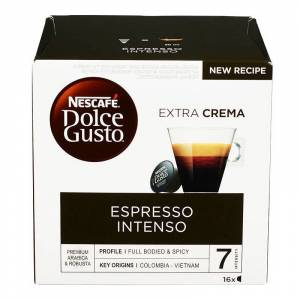 Nescafe Dolce Gusto Espresso Intenso 16 st Kaffekapslar