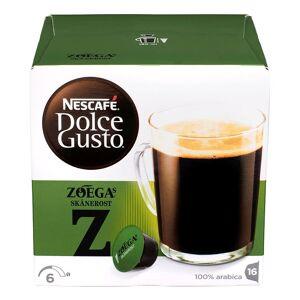 Nescafe Dolce Gusto Zoégas Skånerost 16 st Kaffekapslar