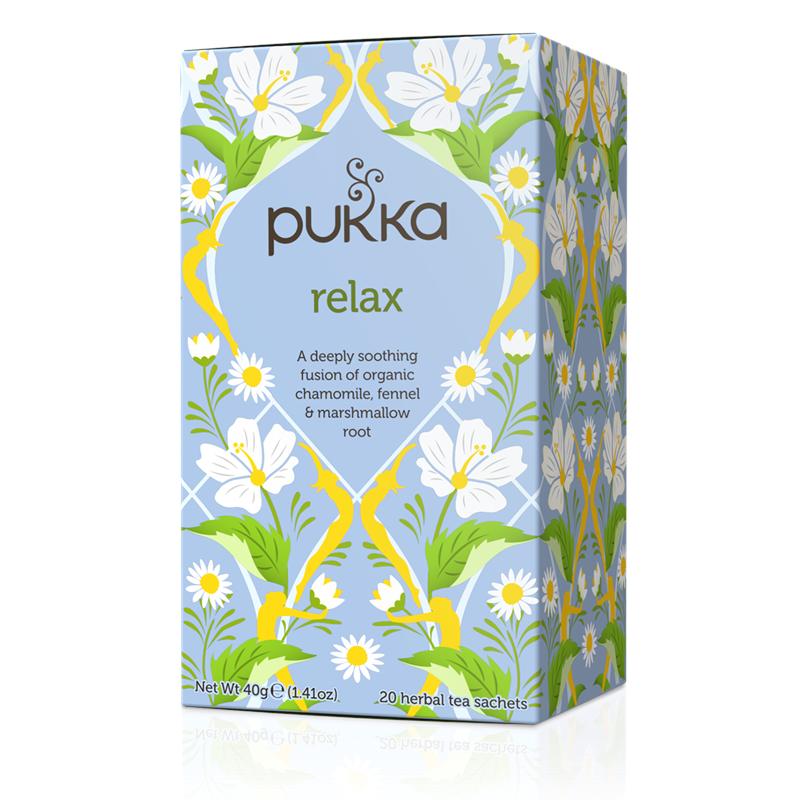 Pukka Relax Tea EKO 20 påsar The