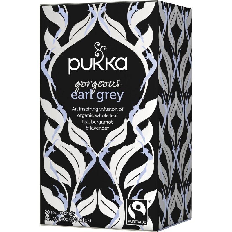 Pukka Gorgeous Earl Grey Tea Eko 20 påsar The