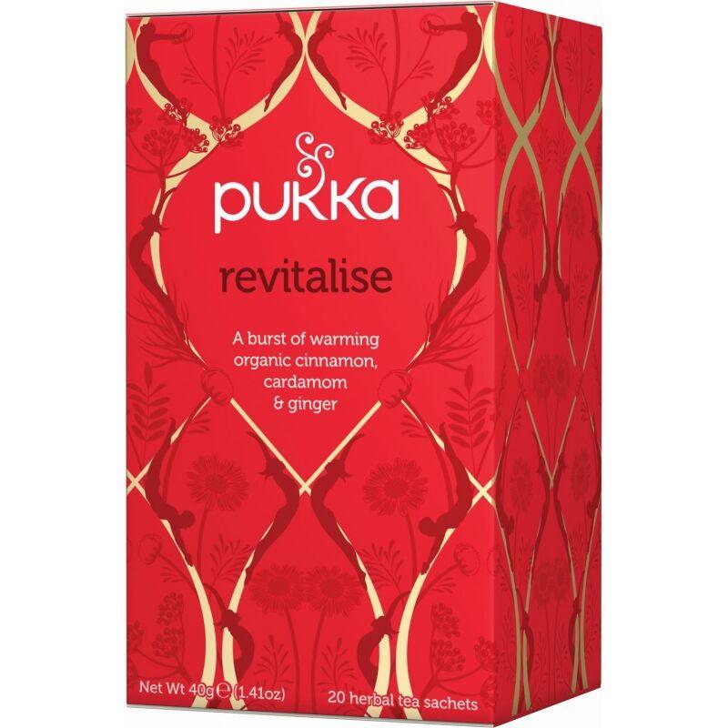 Pukka Revitalise Tea EKO 20 påsar The