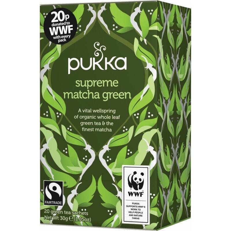 Pukka Supreme Matcha Green Tea EKO 20 påsar The