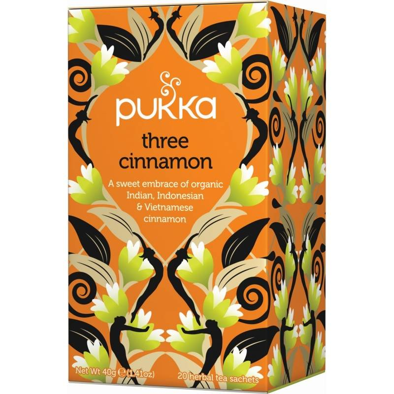 Pukka Three Cinnamon Tea Eko 20 påsar The
