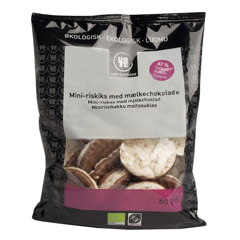 Urtekram Mini-Riskex Mjölkchoklad EKO 60 g Snack