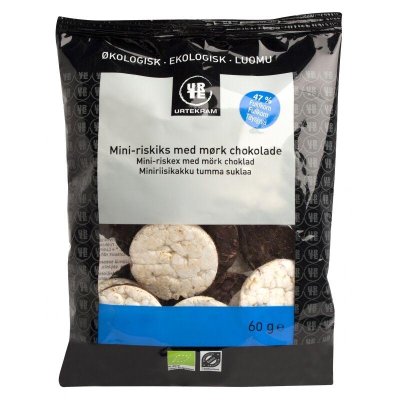 Urtekram Mini-Riskex Mörk Choklad EKO 60 g Snack