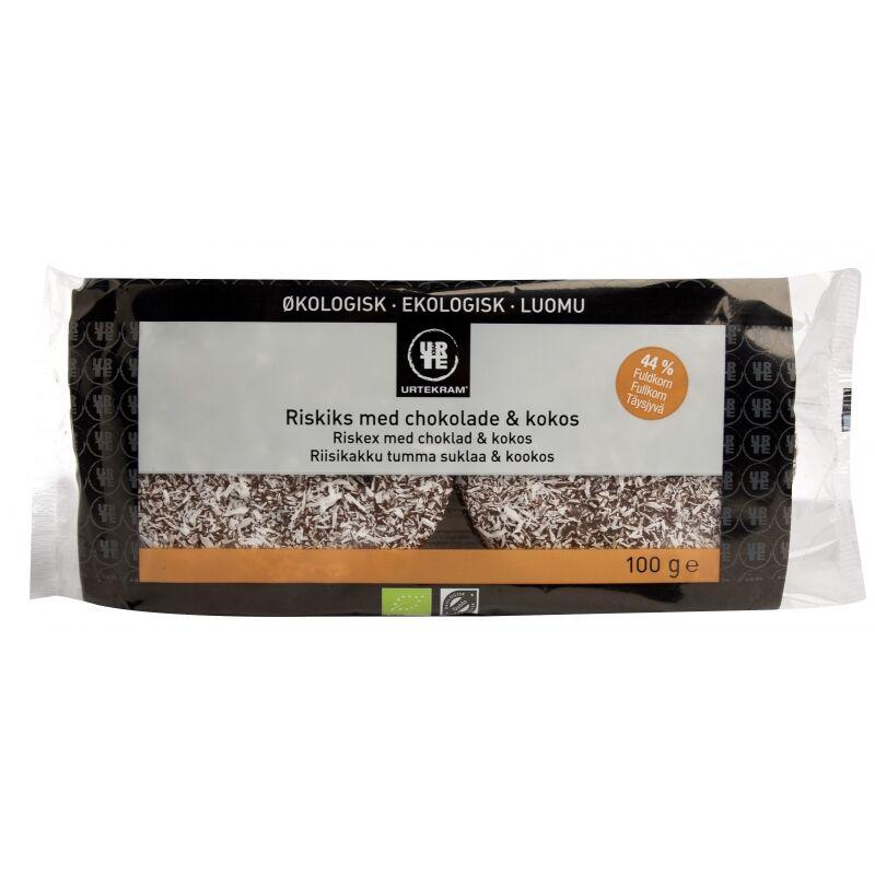 Urtekram Riskex Kokos & Choklad EKO 100 g Snack