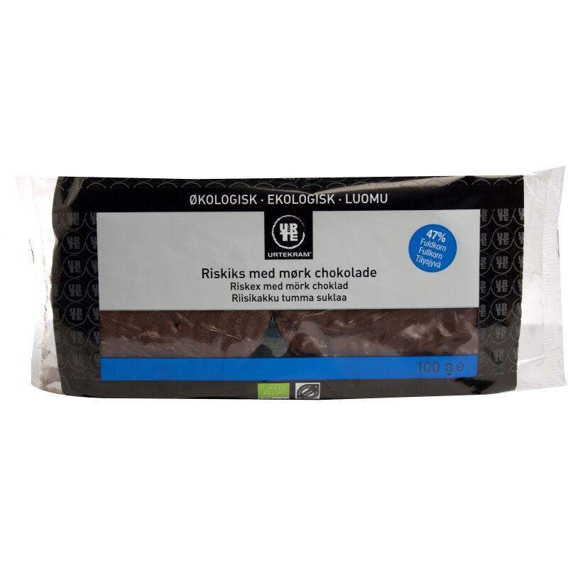 Urtekram Riskex Mörk Choklad EKO 100 g Snack