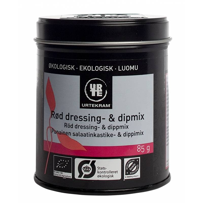 Urtekram Röd Dressing & Dipmix EKO 85 g Krydda