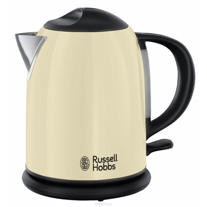 Russell Hobbs 20415-70 Colours+ Kettle Cream 1,7 L 1 st Köksredskap