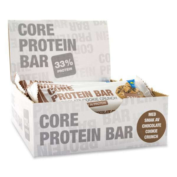Core Protein Bar Chocolate Cookie Crunch 12-pack