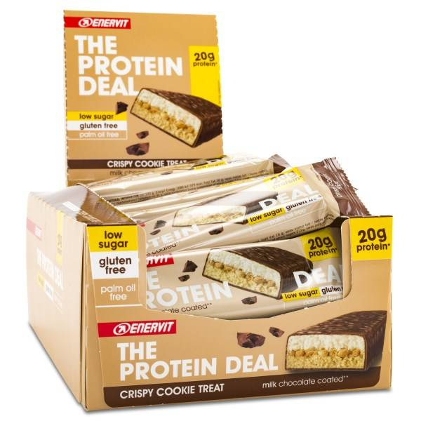 Enervit Protein Deal Protein Bar Cookie 25-pack
