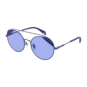 Police SPLA94 MOONBEAM 1 Solglasögon female Shiny Blue