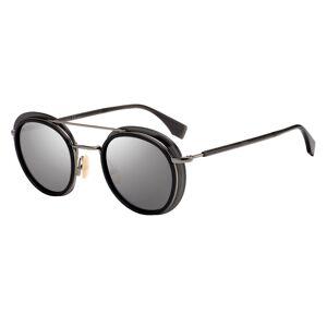 Fendi FF M0059/S Solglasögon male Black/Matte Grey