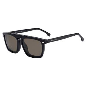 Boss by Hugo Boss Boss 1128 With Clip On Solglasögon male Black