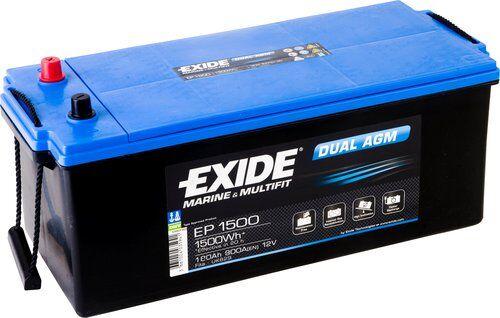 Exide/Tudor Exide dual agm batteri, 180 ah