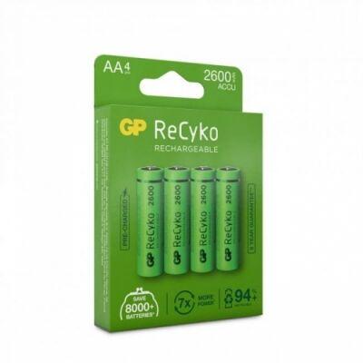 GP AA ReCyko GP 2600mAh NI-MH - 4 pack