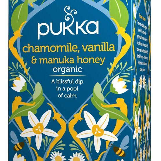 Pukka Chamomile Vanilla & Manuka Honey 20 tepåsar