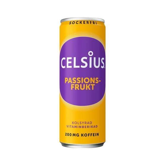Celsius Passionsfrukt 355 ml