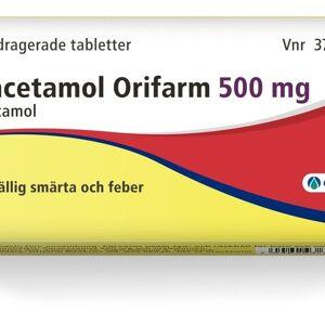 Orifarm Paracetamol Orifarm, filmdragerad tablett 500 mg 20 st