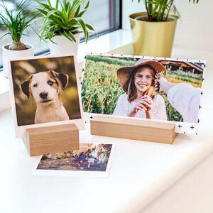 smartphoto Bilder med Trähållare