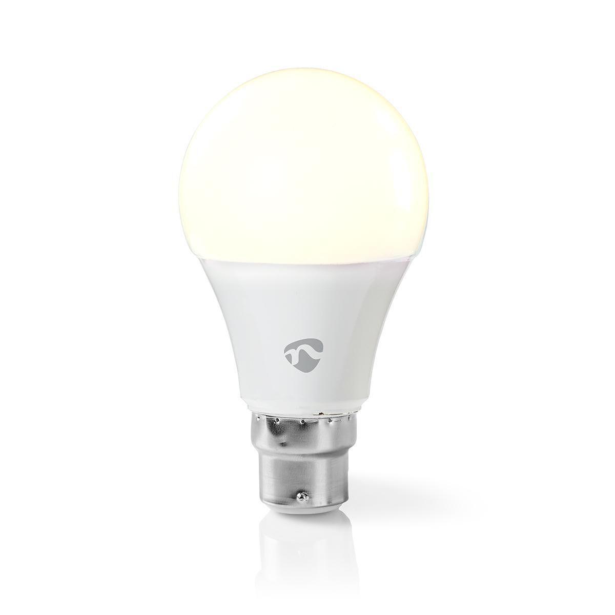 Nedis WiFi Smart LED-lampa B22 - Varmt till kallt vitt