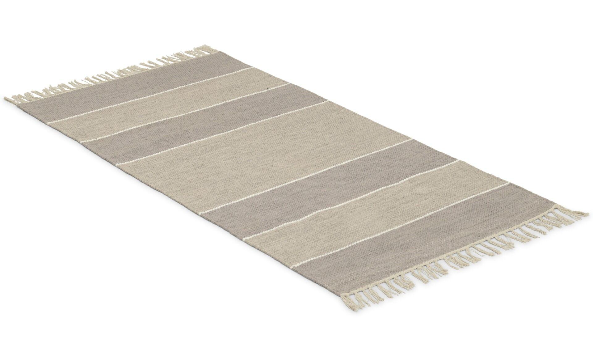 Colourful vintage rost - maskinvävd matta