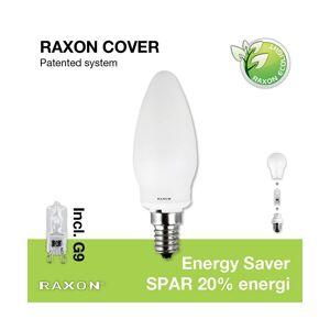 Raxon Päronlampa 33W Kronljuslampa Cover Ø35 E14 - Raxon
