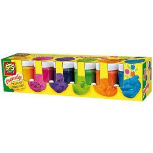 Creative SES Gouachefärg för barn 6 x 45 ml