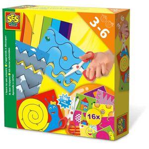 Creative SES Barn lära sig klippa Pyssel-Kit