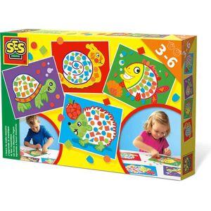 Creative SES Mosaikset Pysselpaket till barn