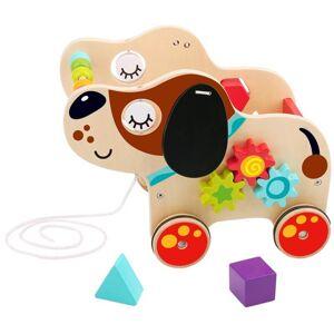 Tooky Toy Dragleksak i trä hund