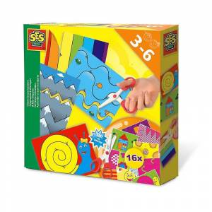 Creative SES Creative Jag lär mig att använda Sax Kit Unisex Ages 3 till 6 år Multi-colour