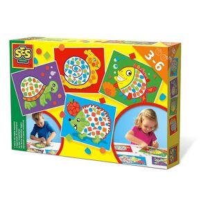 Creative SES Creative Children's I Learn to Make Mosaics Set Multi-colour (14827)