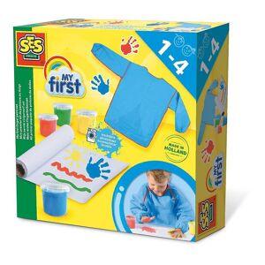 Creative SES Creative Children's My First Washable FingerPaint Set 4 Paint Pots (14417)