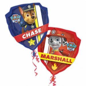 Amscan Supershape Paw Patrol karaktär folie ballong Blå/röd One Size